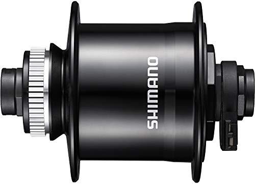 Shimano Nexus DHUR705D12BL Legwear - Gamba centrale a 32 fori, colore: Nero