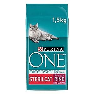 PURINA ONE BIFENSIS STERILCAT Katzenfutter trocken für sterilisierte Katzen, Huhn oder Rind, verschiedene Größen 3