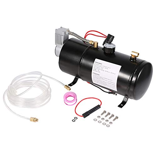 BIKING Air Compressor,150 PSI 12V Air Compressor Vehicile Tire Inflator For Truck Pickup On Board With 3 Liter Tank