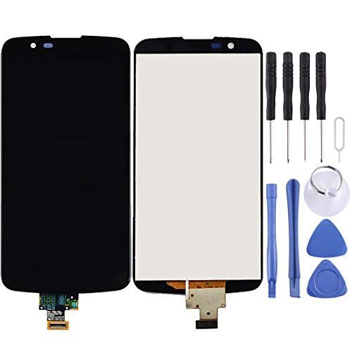 SHUFE Pantalla LCD y digitalizador Asamblea Completa for LG K10 LTE / K10 2016 / K410 / K420 / K420N / K430 / K430DS / K430DSF / K430DSY (Color : Black)