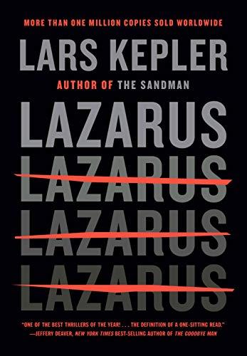 Image of Lazarus: A novel (Killer Instinct)