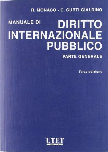 Manuale di diritto internazionale pubblico p.g.