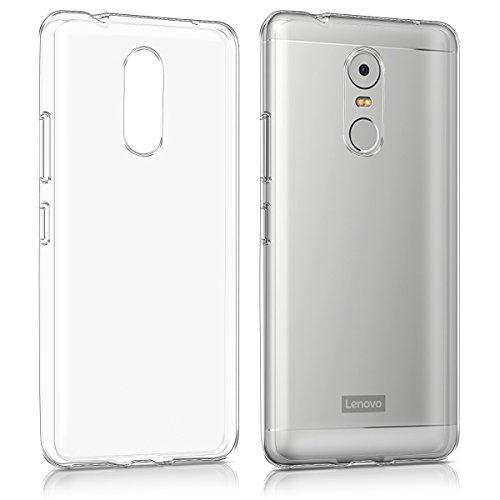 kwmobile Lenovo K6 Note Hülle - Handyhülle für Lenovo K6 Note - Handy Case in Transparent