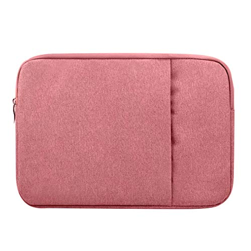 KOLIU Laptop Sleeve Case 14/15./15.6 Inch Notebook Travel Carrying Bag Waterproof Protective Cover For Macbook Air Pro 13 15 (Color : Pink, Size : 14-inch)