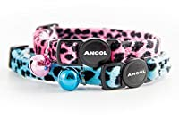 Item display weight: 0.04 kilograms Leopard print cat collar for visibility Includes a safety break away clasp Available in pink or turquoise Designed to be easy to use Matching leads are also available