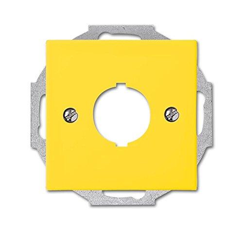 Busch-Jaeger Zentralscheibe gelb 2533-914-15 f.Datenkommunikation Busch-Balance SI Einsatz/Abdeckung für Kommunikationstechnik 4011395190937