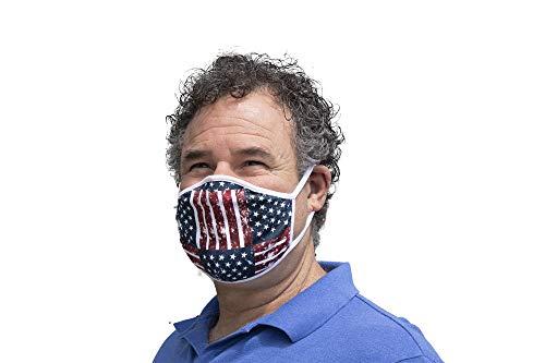 American flag mask - reusable