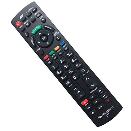 EAESE N2QAYB000752 Universal Mando a Distancia Repuesto para Panasonic TV Viera Reemplazo de Control Remoto para Panasonic TV N2QAYB000487 N2QAYB000352 N2QAYB000753