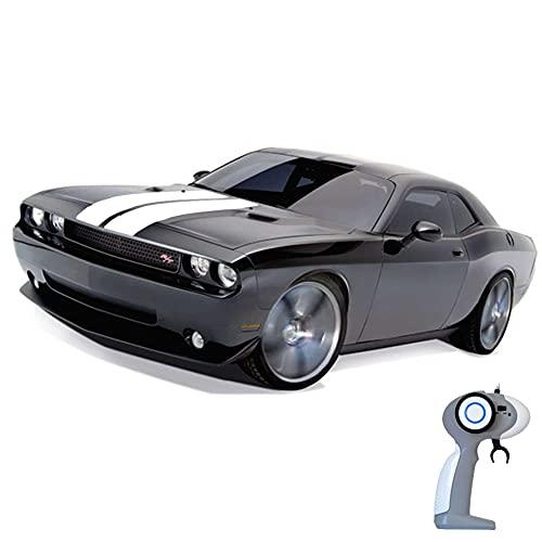 Dodge Challenger SRT8 - RC ferngesteuertes Lizenz-Fahrzeug im Original-Design, Modell-Maßstab 1:16, Ready-to-Drive, Auto inkl. Fernsteuerung und Batterien, Neu