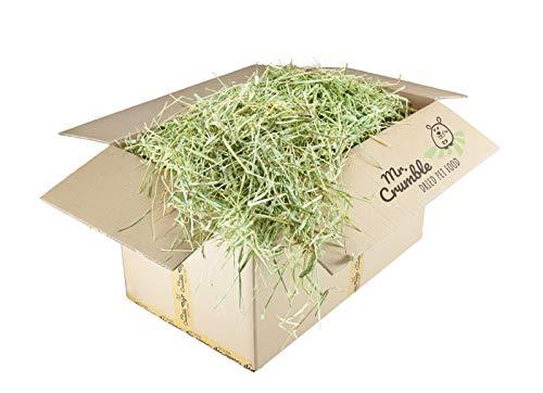 Mr. Crumble Dried Pet Food Timothy-Heu Strukturfutter getreidefrei für Kaninchen, Meerschweinchen und Degus Box 4000g