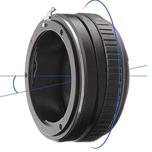 Shuangyu Anillo adaptador de montura para objetivo Nikon AI F a Sony A7 A7R A7S A7II A7RII A7SII A6500 A6300 A6000 A5100 NEX7 NEX-VG10