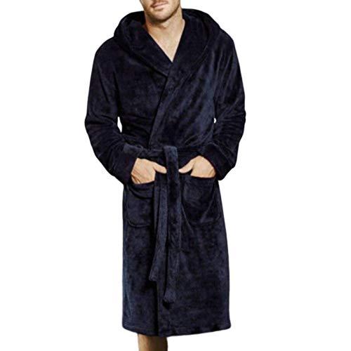 N-B Albornoz y kimono de algodón coral de terciopelo albornoz batas de baño batas de baño de primavera caliente pijama largo vestido de pijama