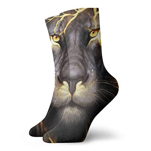 NA gouden aansteker leeuw stijl koning nieuwigheid bemanning sokken atletische sokken kousen 30CM