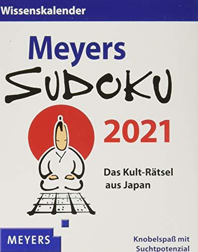 Meyers Sudoku 2021 - Tagesabreißkalender zum Aufstellen oder Aufhängen - Tischkalender - tägliche Herausforderung für alle Sudoku Fans - Format 11 x ... Der tgliche Knobelspa mit Suchtpotenzial