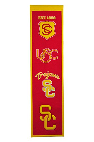 NCAA USC Trojans Heritage Banner