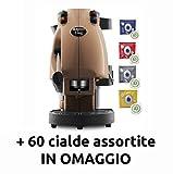Didiesse Frog Revolution Magica Emozione pack (Macchina da Caffè a Cialde + 60 capsule), 650 W, Giallo (nocciola)