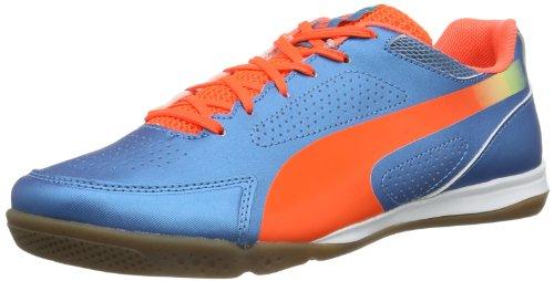 Puma AG Puma Unisex-Erwachsene evoSPEED 3.2 Sala Fußballschuhe, Blau (Sharks Blue-Fluro Peach-Fluro Yellow 04), 40.5