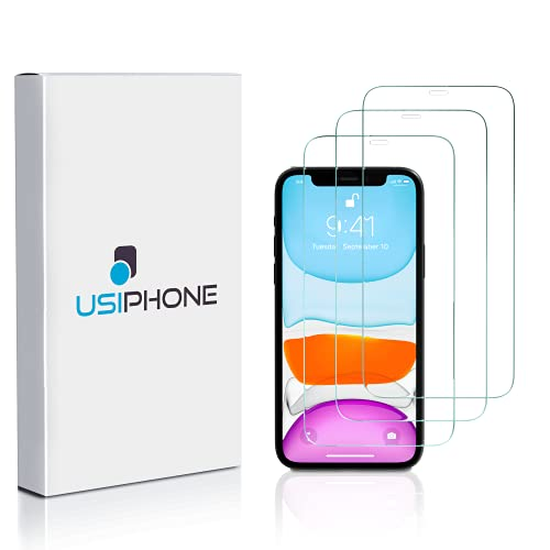 """Verre Trempé pour iPhone 11 & iPhone XR (3 Pack) – Film Protection écran Compatible avec Apple - sans Bulles d'air, Anti-Rayures, Haute Définition (6.1"""") – 0.33mm, Dureté 9H – Transparent"""