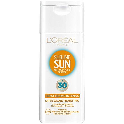 L'Oréal Paris Sublime Sun Latte Solare Protettivo IP 30, 200 ml