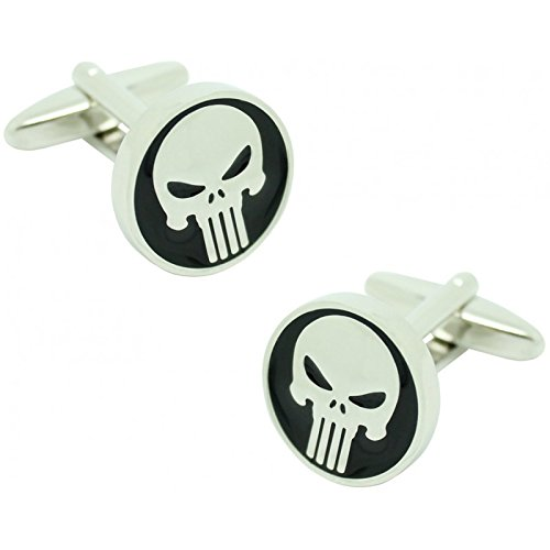 MasGemelos Manschettenknöpfe The Punisher Cufflinks