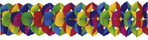 Riethmüller 2943 - slinger, 25 cm x 10 m, moeilijk ontvlambaar, regenboog
