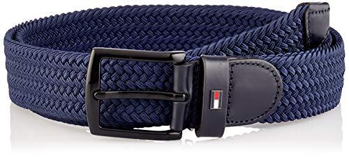 Tommy Hilfiger Denton Elastic 3.5 Cintura, Cielo del Deserto, 90 cm Uomo