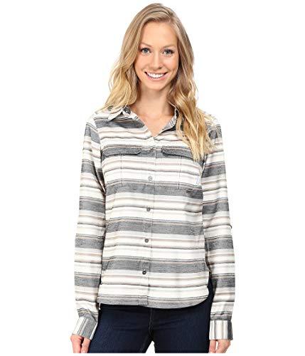 Columbia(コロンビア) トップス シャツ Pilsner Lodge Stripe Long Sleeve Shirt Black Stri レディース [並行輸入品]