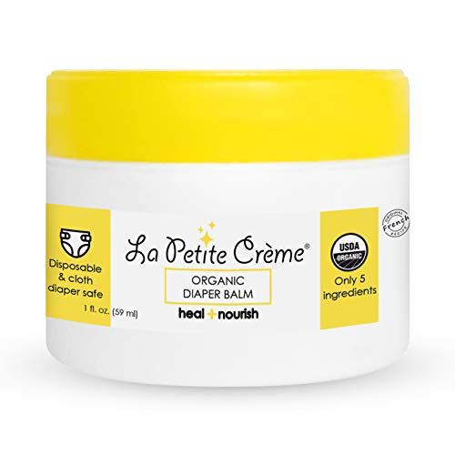 La Petite Creme  Organic French Diapering Healing Balm 1 Oz  USDA Certified Organic