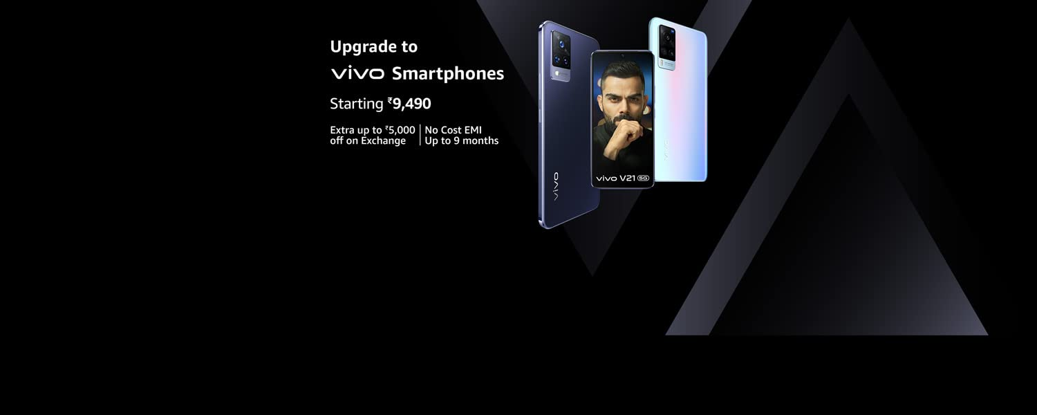 Amazon Offers Today-Coupons-Promo Codes - Get Up to ₹5000 off on Vivo Smart Phones