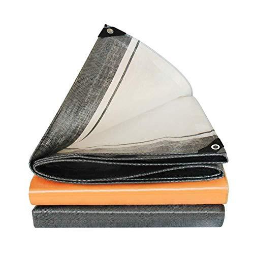 KHFFH dekzeil 220gsm polyethyleen geweven regendicht Persenning plank luifel zonwering carport regendicht tuin stofdicht meubel Persenning (maat: 5x8 M), maat: 3x3 M
