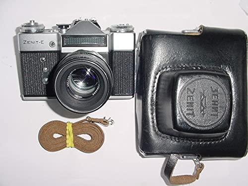 zenit-e Urss unione Sovietica russa 35mm SLR film camera