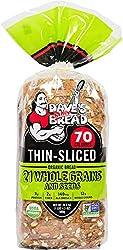 Dave's Killer Bread, 21 Whole Grains Thin-Sliced 70 Calories, Organic, 20.5 Ounce