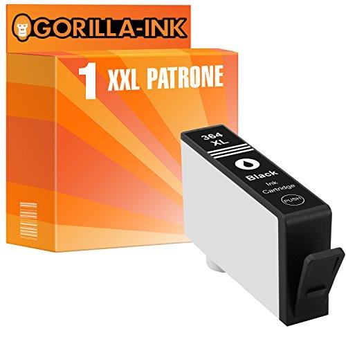 Gorilla-Ink 1 Tinten-Patrone XXL kompatibel für HP 364 XL Schwarz Deskjet 3070 3070 A 3070 AIO 3520 3520 E 3520 E AIO 3520 V 3520 W 3522 3522