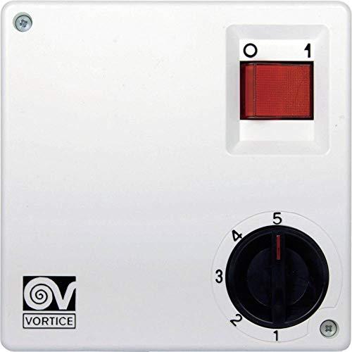 Vortice SCNR5 5 Kanäle, weiß, Ventilatorgeschwindigkeitsregler