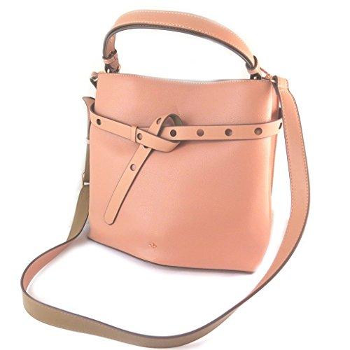 Nica [N9099 - Designer-tasche pink (2 fächer)- 28.5x26x17 cm.
