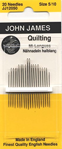 Colonial Needle Quilting/Betweens Hand Needles-Size 5/10 20/Pkg