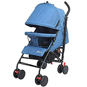 Buggy Stroller Travel Buggy Summer Blue Lightweight Pushchair for Kids   11