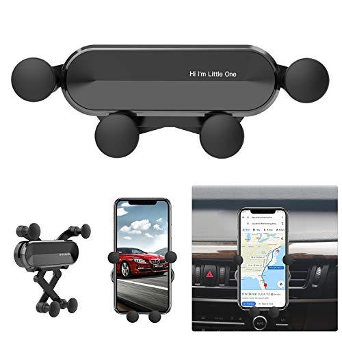 """Ossky Handyhalter fürs Auto, KFZ Handyhalterung Lüftung Handy Halterung Autohalterung Universal für Smartphone 4,7\""""- 6,5\"""" mit Metall Rahmen"""