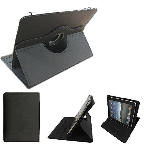 K-S-Trade Kompatibel Mit I-onik TM3 Serie 1 10.1 Zoll Schutz Hülle 360° Tablet Hülle Schutzhülle Flip Cover Kompatibel Mit I-onik TM3 Serie 1 10.1 Zoll, Schwarz. Tablet Hülle Drehbar