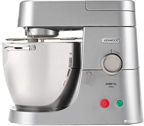 Kenwood KPL9000S Chef XL Pro Robot pâtissier professionnel, 1700 W, 6,7 L