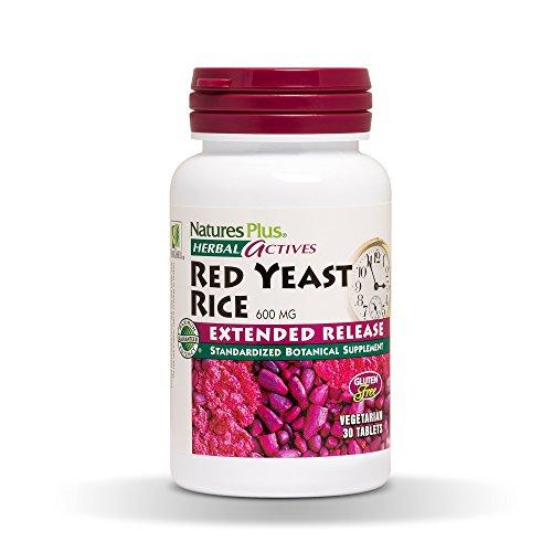 Nature´s Plus Red Yeast R Arroz de Levadura Roja - 30 Comprimidos