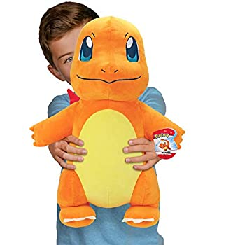 Pokemon Charmander Giant Plush 24-Inch - Adorable Ultra-Soft Life Size Plush Toy Perfect for Playing & Displaying - Gotta Catch 'Em All