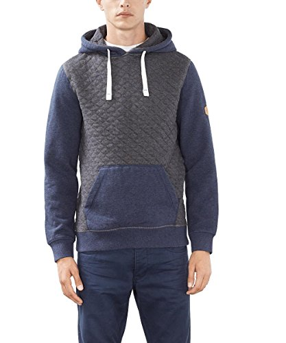 edc by ESPRIT Herren 096CC2J003 Sweatshirt, Grau (Dark Grey 020), Medium