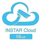 10GB Speicherkontingent für die INSTAR Cloud (10GB für 1 Jahr / HTML5 Videowiedergabe/erweiterte Bewegungserkennung/Verwaltung von Alarmaufnahmen/Online NAS/NVR)