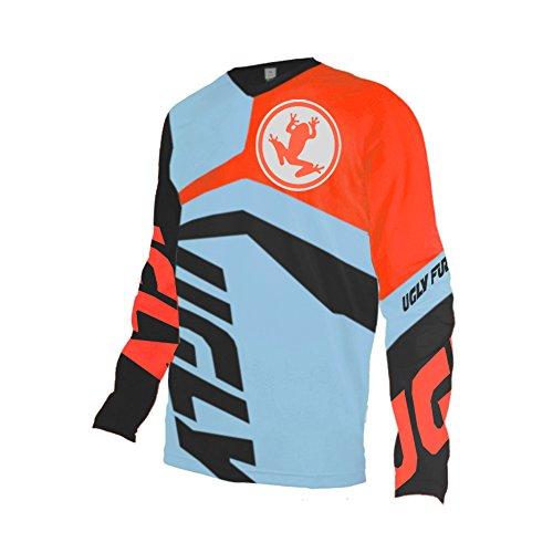 Uglyfrog Winter Thermo Langarm Downhill Jersey DH/AM/XC/FR/MTB/BMX/Moto/Enduro Kleidung Fahrradtrikot