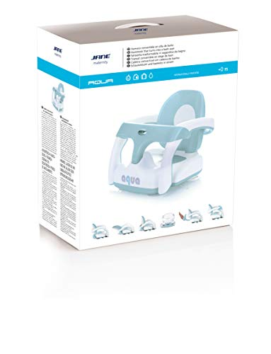 Jane Aqua - Asiento de baño convertible (4 kg)