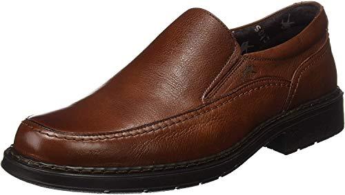 Fluchos | Mocasín de Hombre | Clipper 9578 Cidacos Libano Zapatos Confort | Mocasín de Piel de Ternera de Primera Calidad | Cierre con Elásticos | Piso de Goma Personalizado