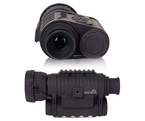 Summit Tools HD Digital Night Vision Monocular Camera Camcorder with 1.5 in. TFT, 50mm Objective Lens, 1150 ft. Range, 6X Magnification and 2 Tripod Jacks, Takes 5MP Photo & HD Video