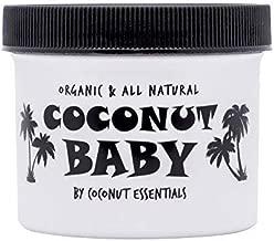 Coconut Baby Oil Organic Moisturizer – All Natural – Vitamin E Oil for Hair..