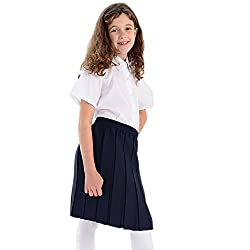 Box Pleated Skirt for Girls Different sizes available for ages 2-16 years Ideal to wear to school, as well as casually or formally Comfortable, stretchy and durable pleated skirts For easy care, Machine Washable only